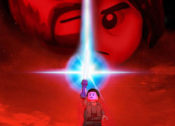 LEGO Star Wars The Last Jedi Poster