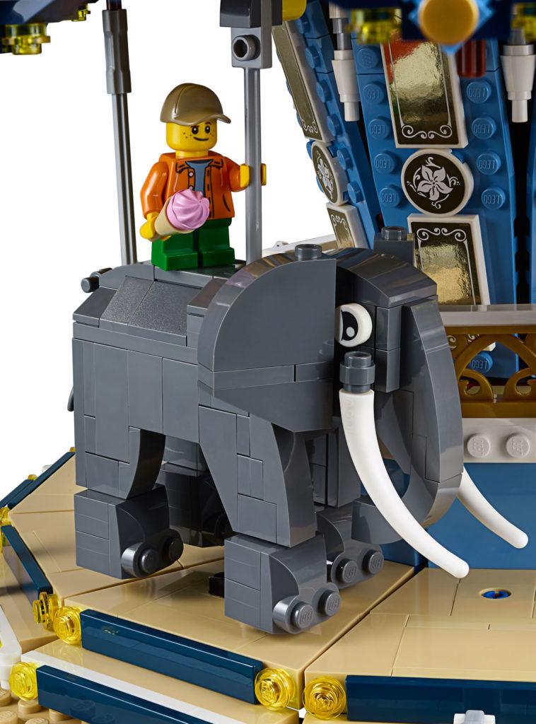 LEGO Creator Expert Carousel (10257) - Elephant