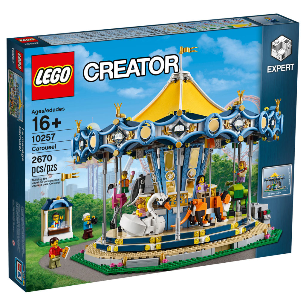 LEGO Creator Expert Carousel (10257) Box - Front