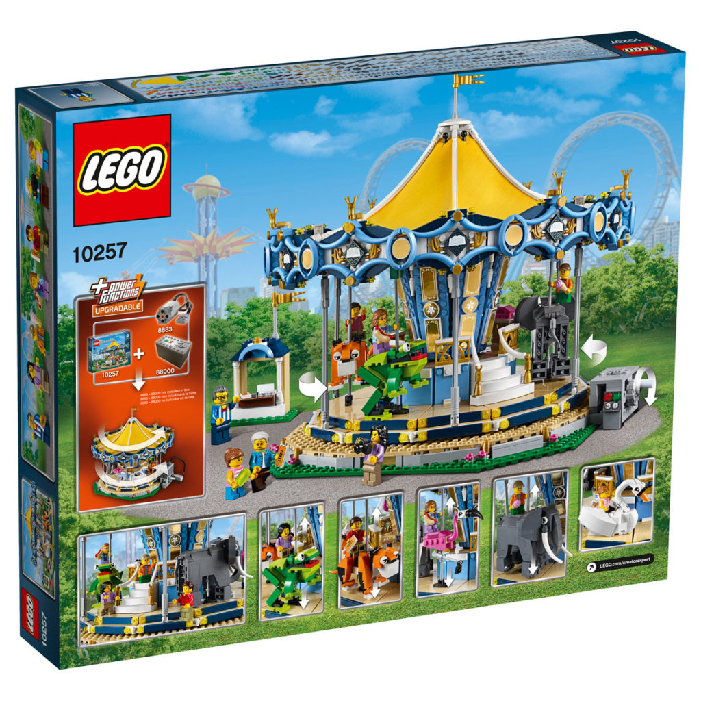 10257_Box5_v39LEGO Creator Expert Carousel (10257) Box - Back