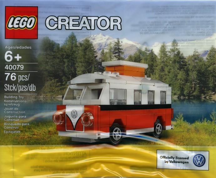 Mini VW T1 Camper Van (40079)