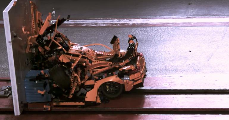 brickfinder lego technic porsche 911 gt3 rs crash test. Black Bedroom Furniture Sets. Home Design Ideas