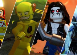 LEGO DC Superhero Minifigures