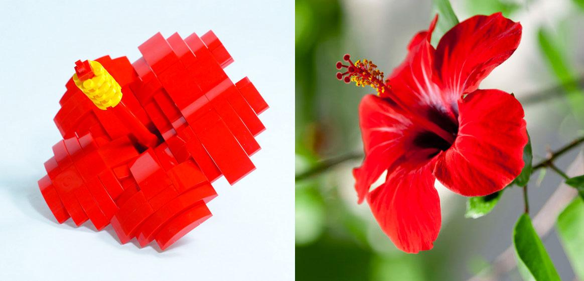 LEGO Malaysia Cultural Mini Build Bunga Raya