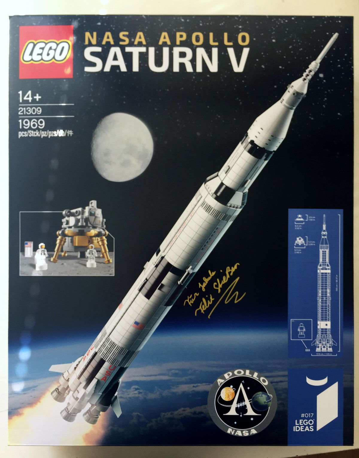 LEGO Ideas Saturn V Apollo Rocket