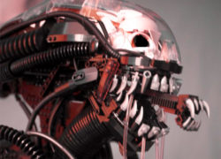 Alien xenomorph by Blair Archer