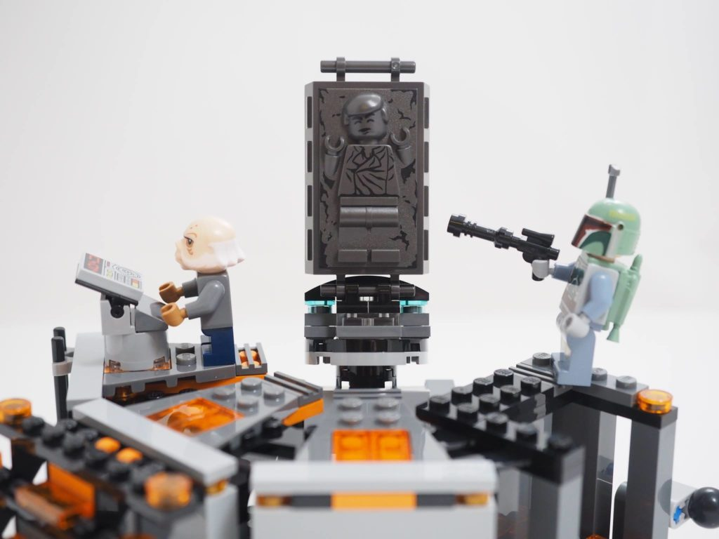 Brickfinder review lego star wars darth vader for Chambre lego