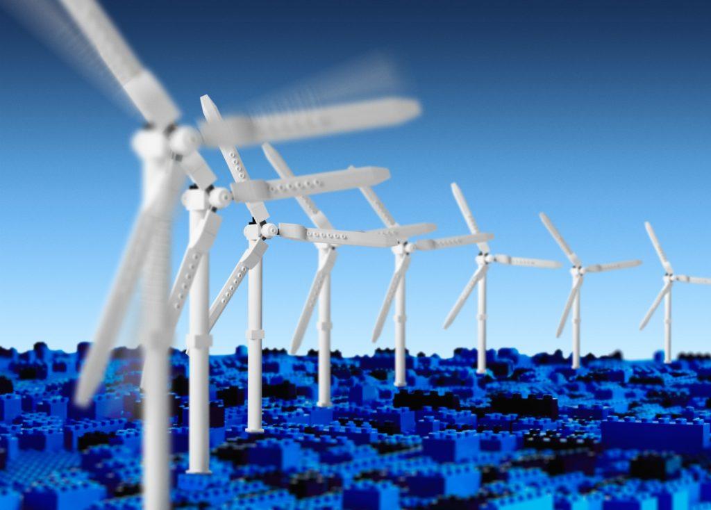 Largest LEGO Wind Turbine