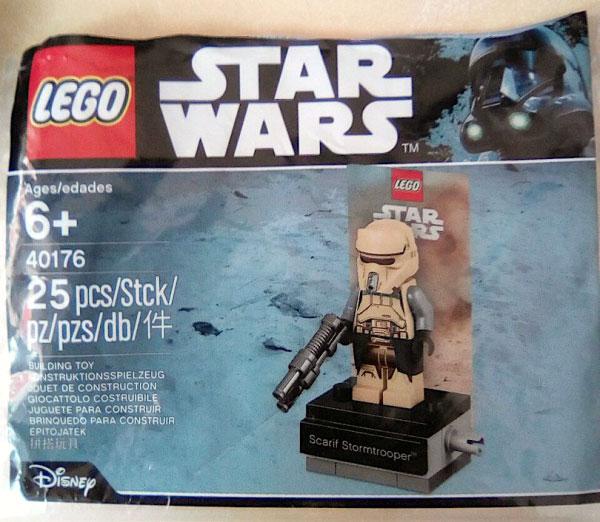 LEGO Star Wars Scarif Stormtrooper 40176