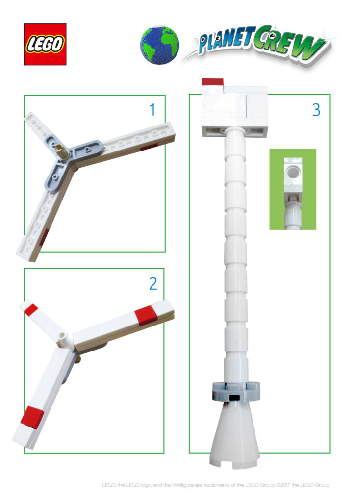 lego wind turbine instructions
