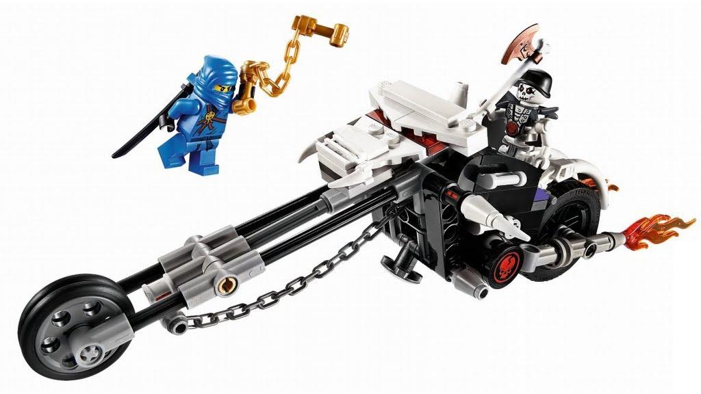 LEGO Ninjago Skull Motobike (2259)