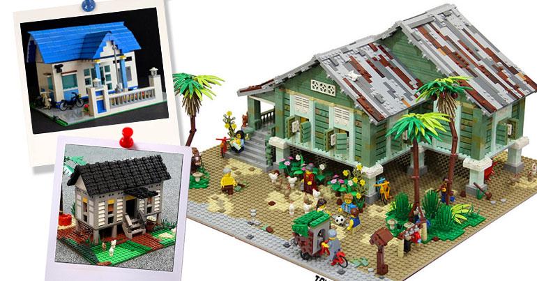 LUG of Malaysia Jom Balik Kampung LEGO show