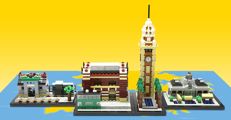 LEGO Hong Kong Mini-Build Landmarks Official Images