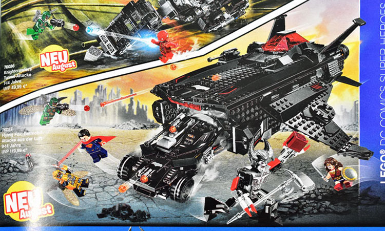 Flying Fox: Batman Airlift Attack (76087)