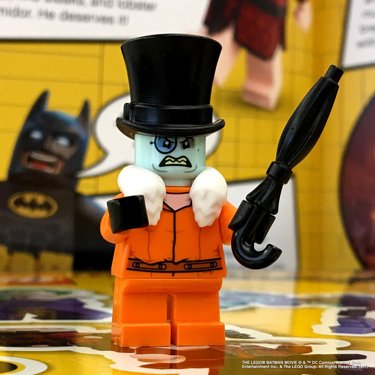 Exclusive LEGO Penguin Minifigure
