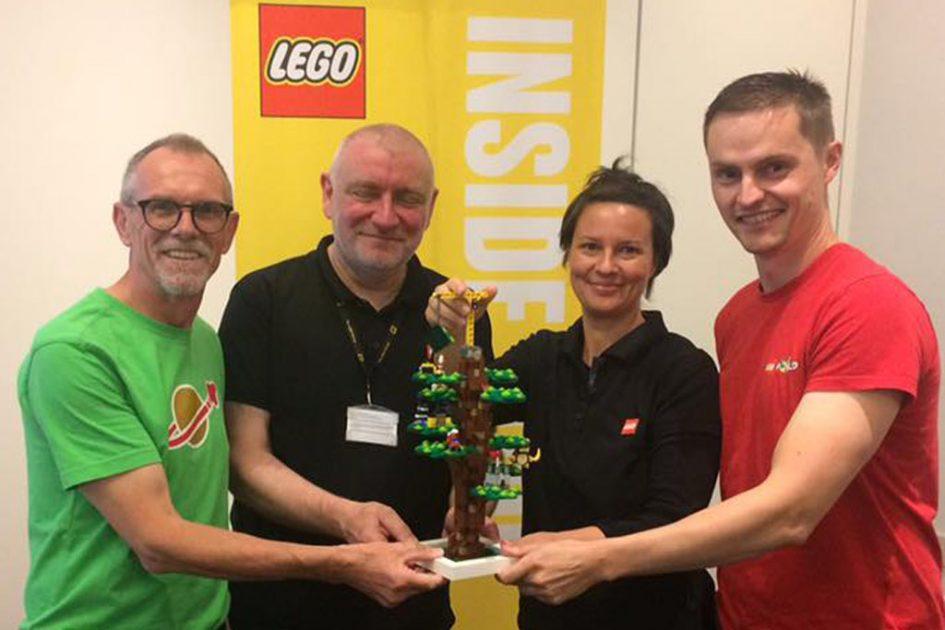 LEGO Inside Tour: LEGO House Tree of Creativity