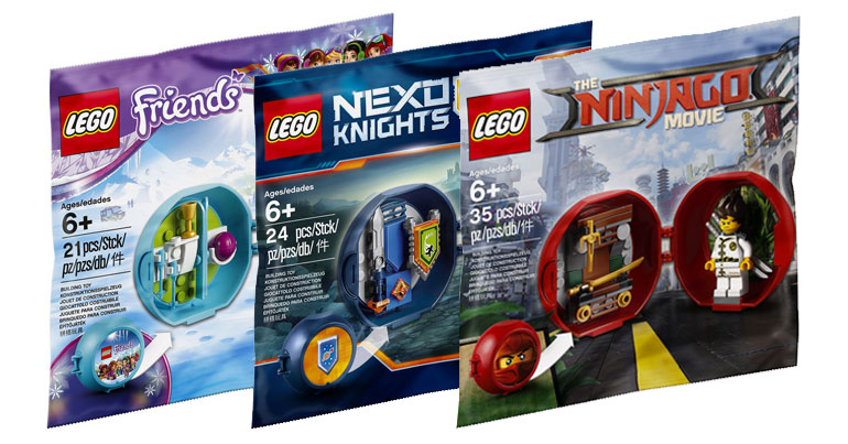 LEGO Promotional Pod Polybags