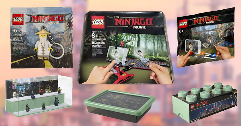 LEGO Ninjago Movie Extended Line Products