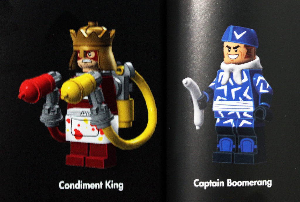 Condiment King and Captain Boomerang