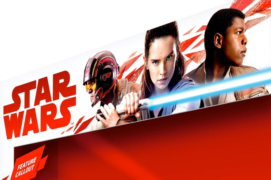 Star Wars The Last Jedi Packaging