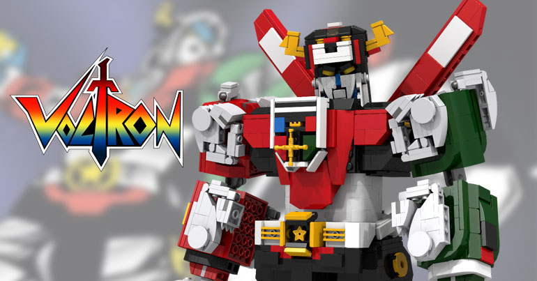 LEGO Voltron Defenders Of The Universe Fan