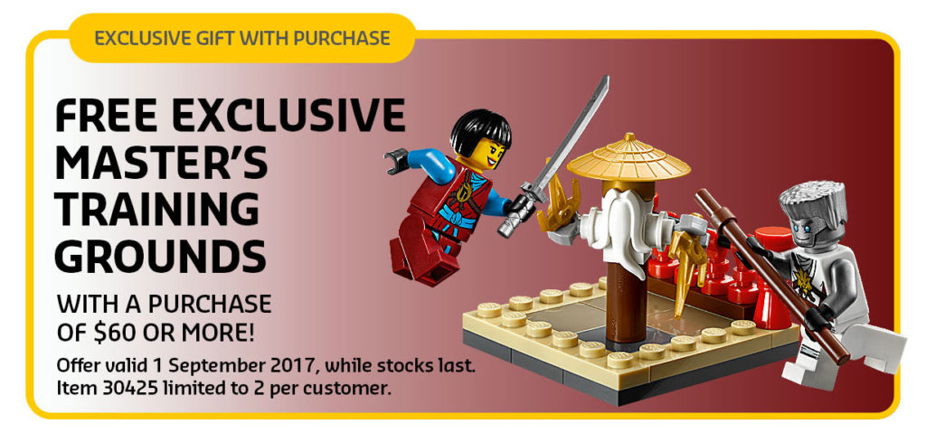 LEGO September Store Calendar Promotions