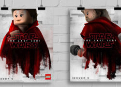 LEGO Star Wars The Last Jedi Movie Posters
