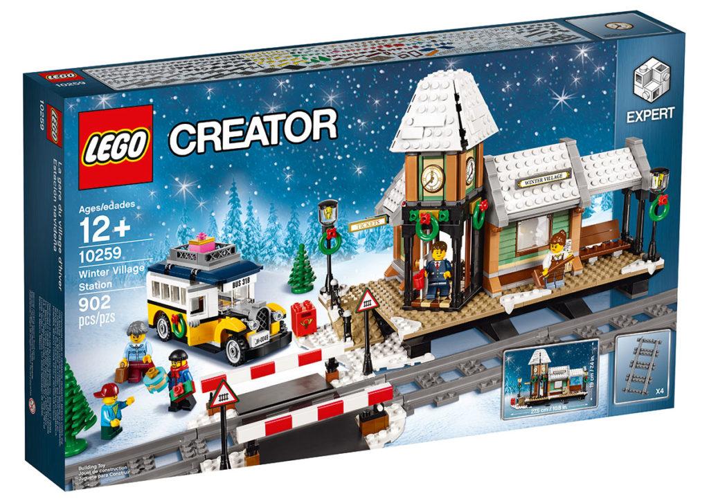 Winter Village Station (10259) - Box Art (Front)