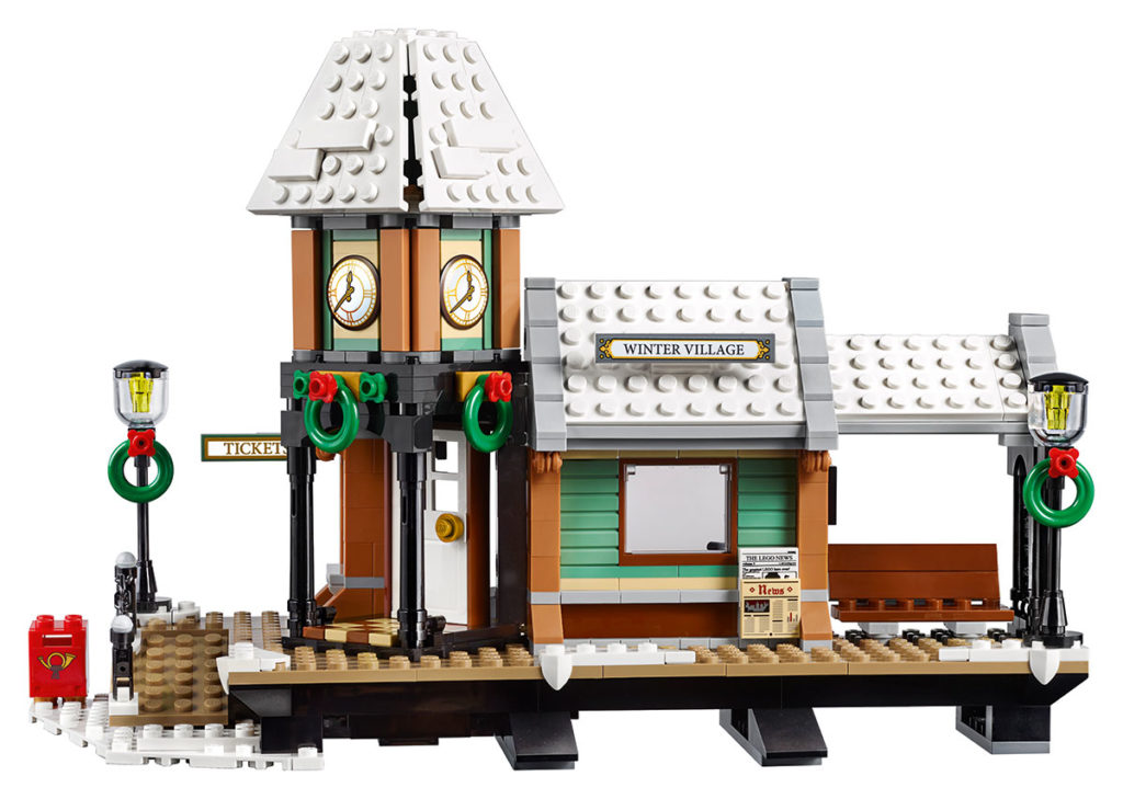 LEGO Creator Expert Winter Village Station - Product Front