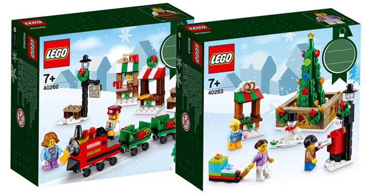 LEGO seasonal holiday sets