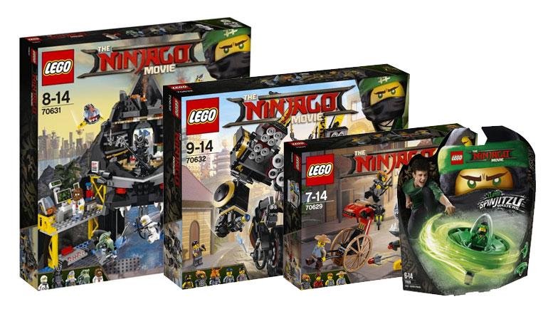 Brickfinder - The LEGO Ninjago Movie Wave 2 Official First Look
