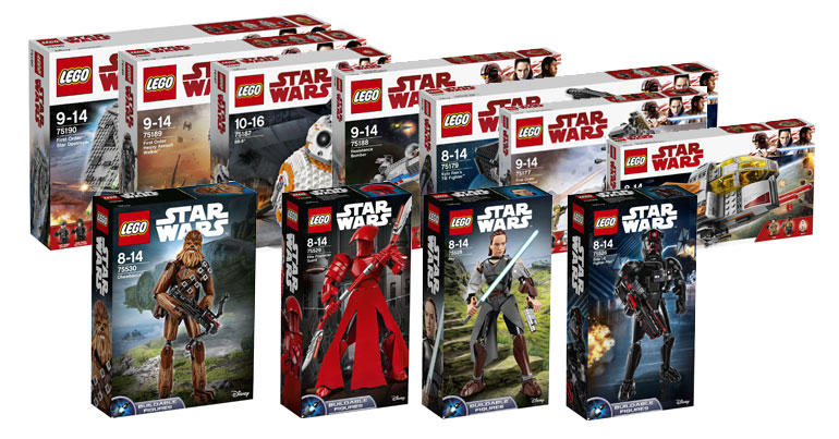 LEGO Star Wars September Wave