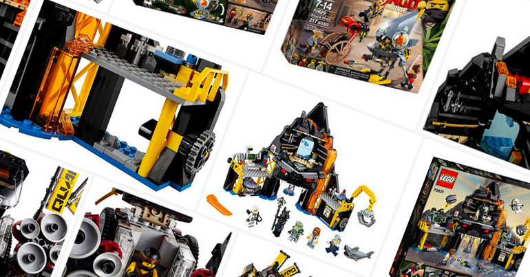 LEGO Ninjago Movie Sets Official Images