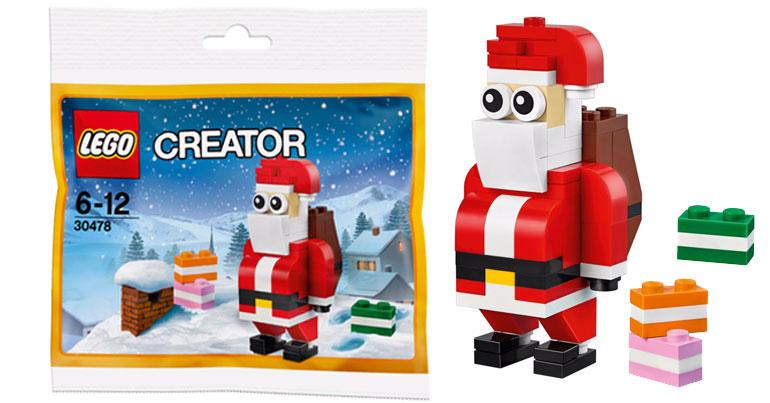 LEGO Creator Jolly Santa (30478)