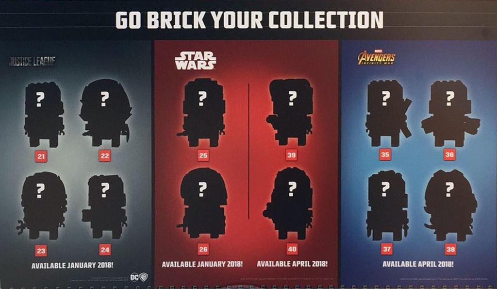 LEGO BrickHeadz 2018 Line Up