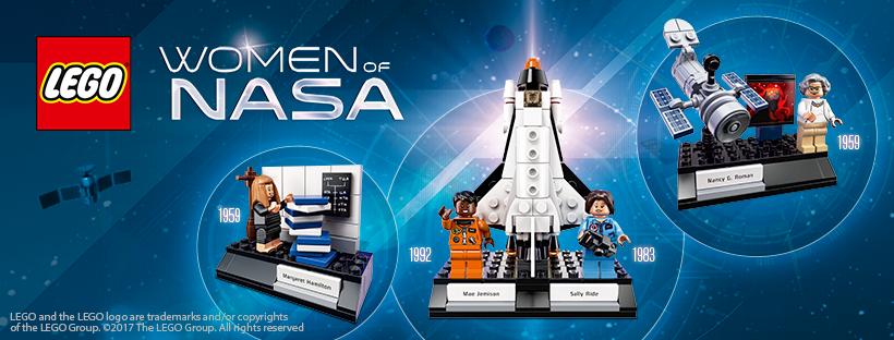 LEGO Ideas Women of NASA set