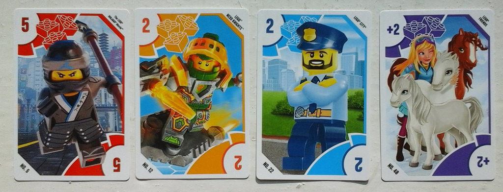 LEGO Toys 'R' Us Trading Cards ©Brickset