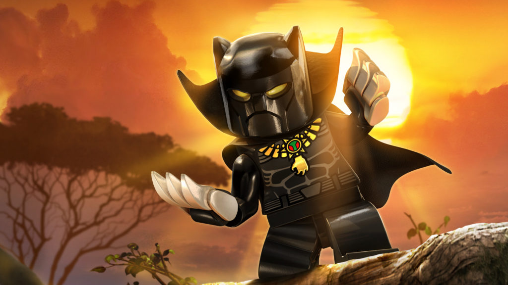 LEGO Black Panther movie