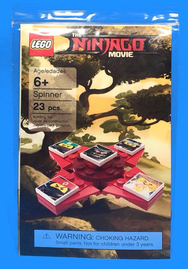 Brickfinder Lego Ninjago Movie Fidget Spinner Instructions