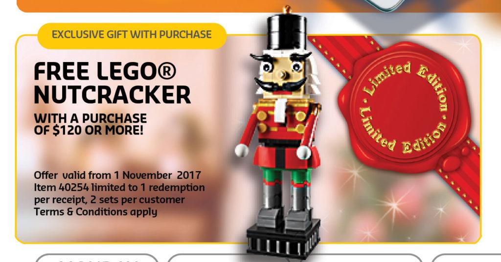 lego nutcracker 40254