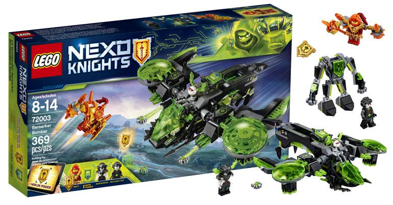 LEGO Nexo Knights Berserker Bomber (72003)