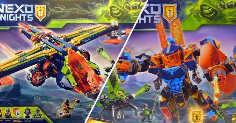 LEGO Nexo Knights 2018 sets