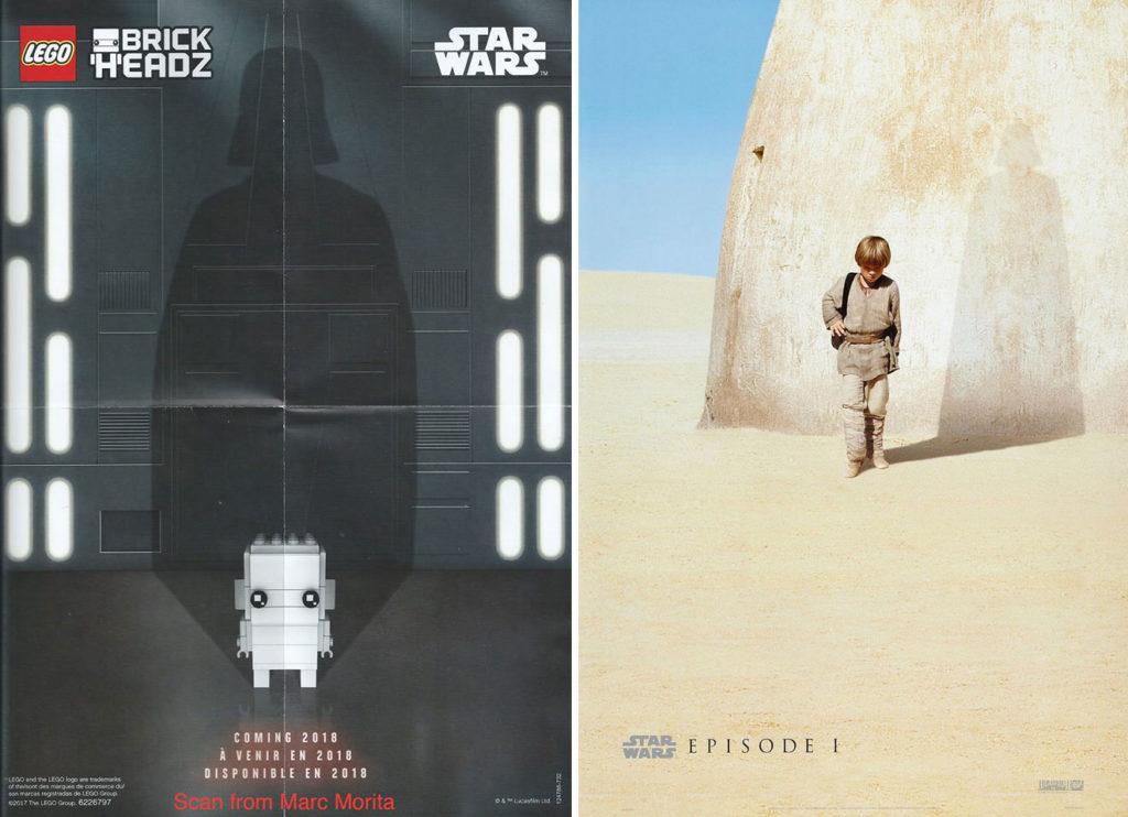 LEGO Star Wars Darth Vader BrickHeadz