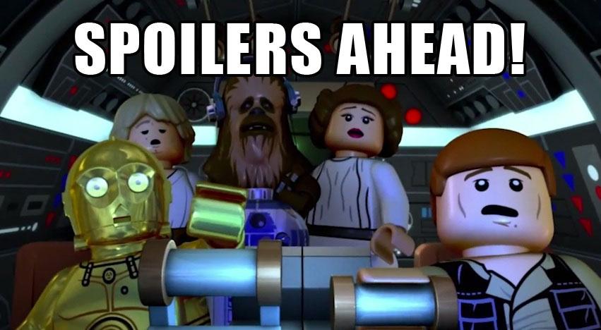 LEGO Spoilers ahead