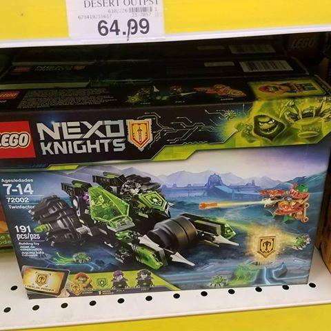 LEGO Nexo Knights Twinfactor