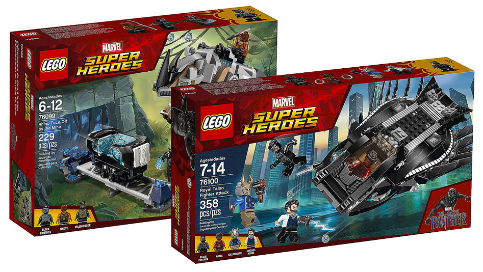brickfinder lego marvel black panther set official images