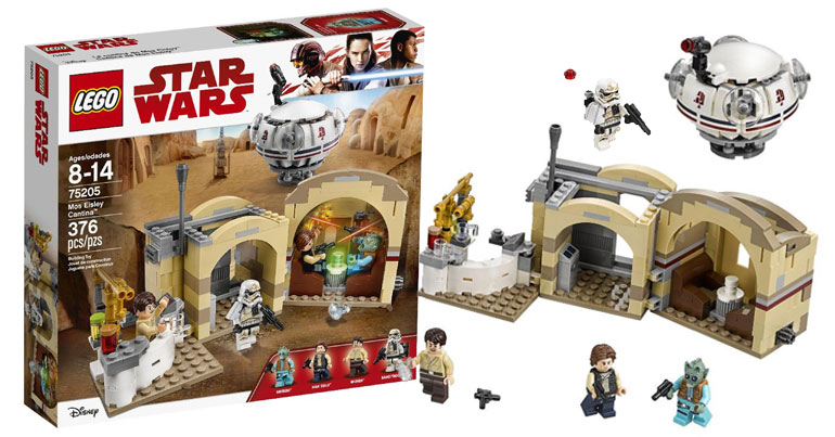 Door Of Hope  >> Brickfinder - LEGO Star Wars Mos Eisley Cantina Official ...