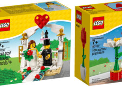 LEGO Wedding Favour LEGO Seasonal Flowers