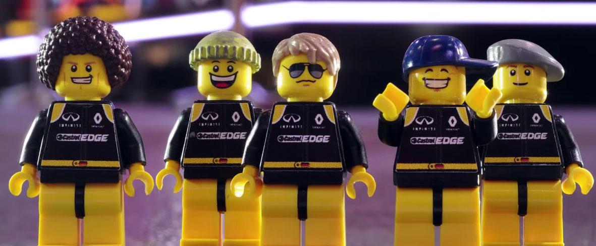 Renault LEGO Minifigures