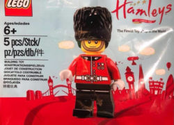 Hamleys royal guard minifigure
